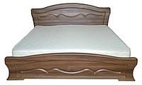 Ліжко  півтораспальне з ДСП/МДФ в спальню Віолетта 140х200 Неман, фото 1