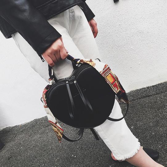 Женская сумка в форме сердца + платок, фото 1
