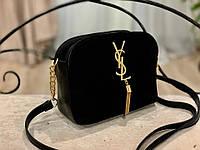 Женская сумка кросс-боди!!!,натуральная замша и кож.зам,3 отделения, фото 1