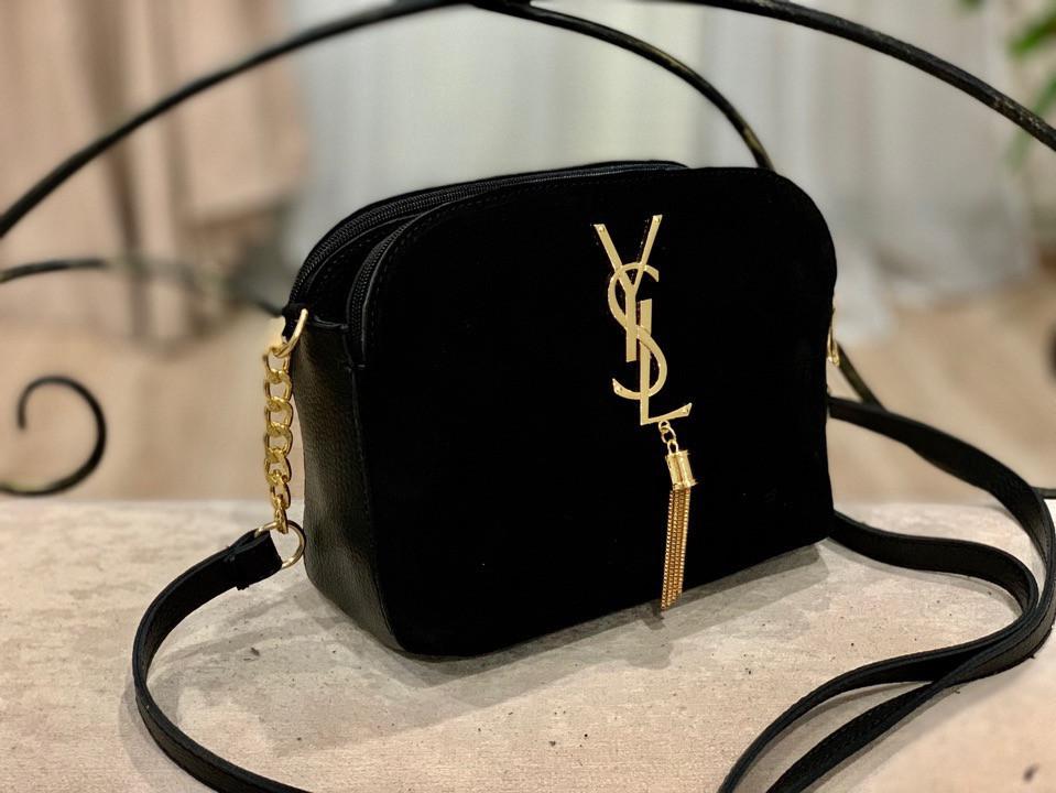 Женская сумка кросс-боди!!!,натуральная замша и кож.зам,3 отделения