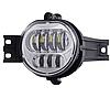 Світлодіодні Протитуманні фари Dodge Ram ( 2 шт) LED, хром, 12-30 В, 62 Вт