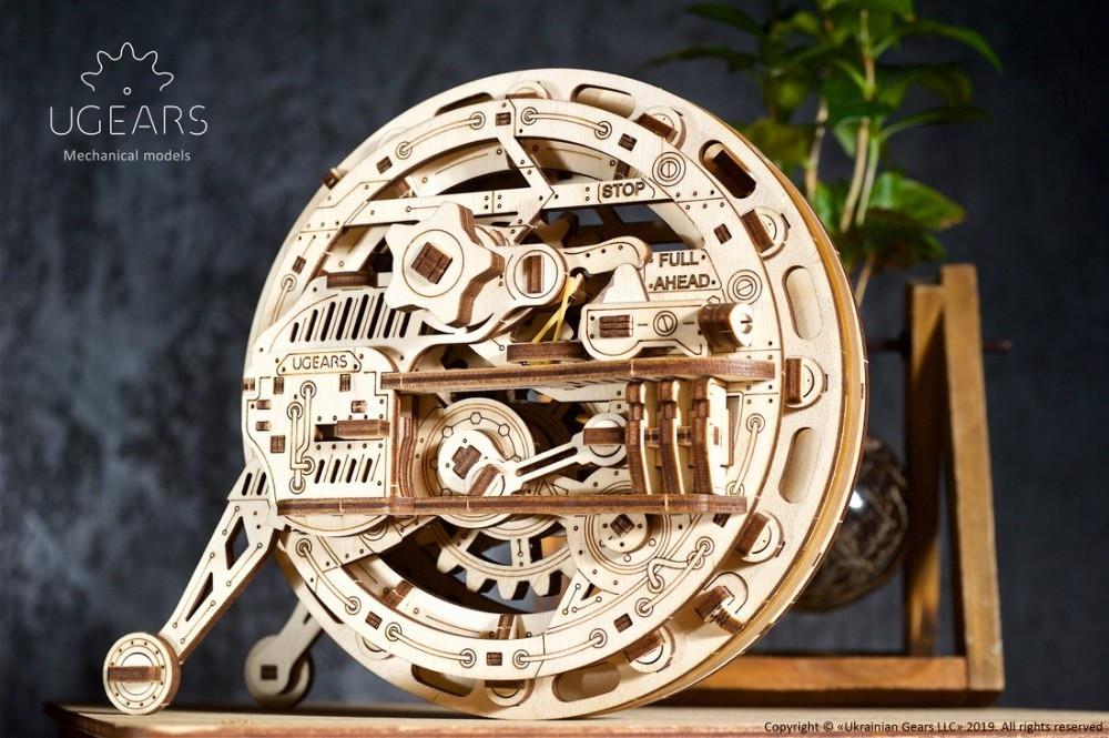 Моноколесо   UGEARS   Механический 3D конструктор из дерева