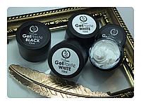 Гель паста для объёмного дизайна Profi nails 10 ml белая