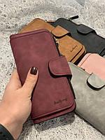 Женский кошелек,нубук,большой,разные цвета, фото 1