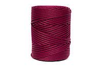 Трикотажный полипропиленовый шнур PP Cord 5 mm, цвет Бордо