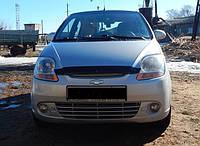 Дефлектор капота (мухобойка) Chevrolet SPARK 2005-2010