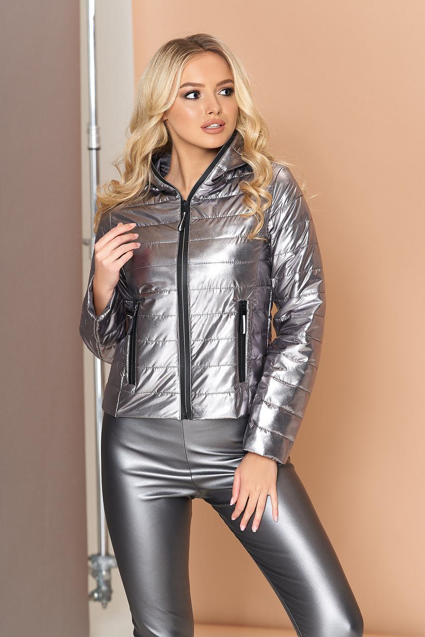 """Куртка """"Сенди"""" (графит) (размер L)"""