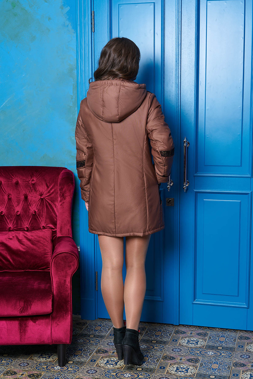 """Куртка """"Металл"""" ( коричневый) (размер 54)"""