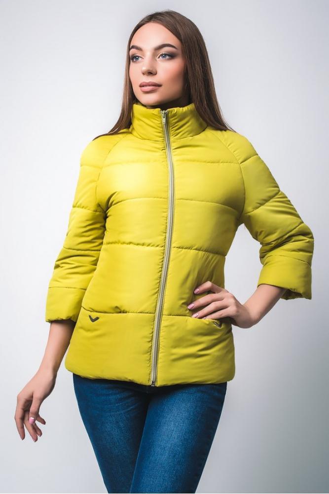 """Куртка """"I-17"""" (светло-зеленый-яблоко) (размер 48)"""