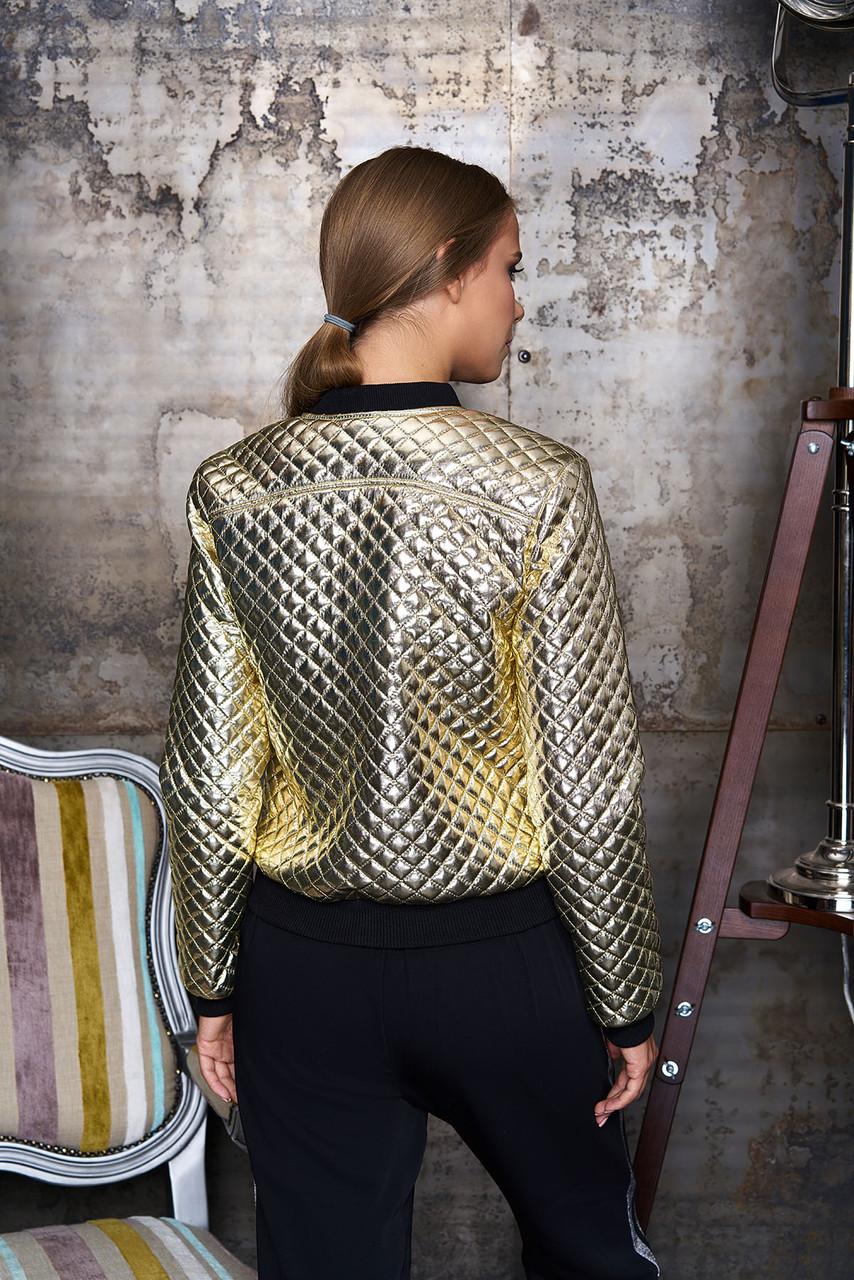 "Куртка ""Кели"" (золото) (размер M)"