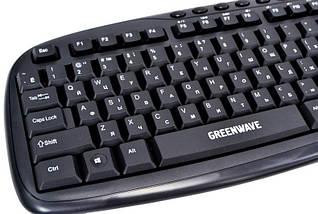 Клавиатура для компьютера GreenWave KB-MM-801 USB, Black, фото 2