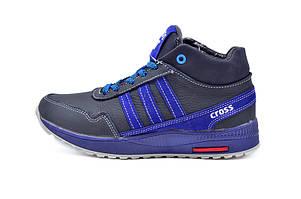 Кроссовки зимние подростковые SAV Cross Fit 23 VQ3 99643 Blue