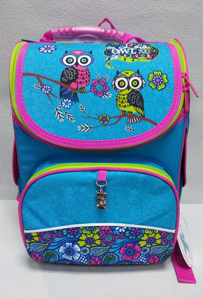 """Школьный рюкзак """"KITE"""" ортопедический для девочек"""