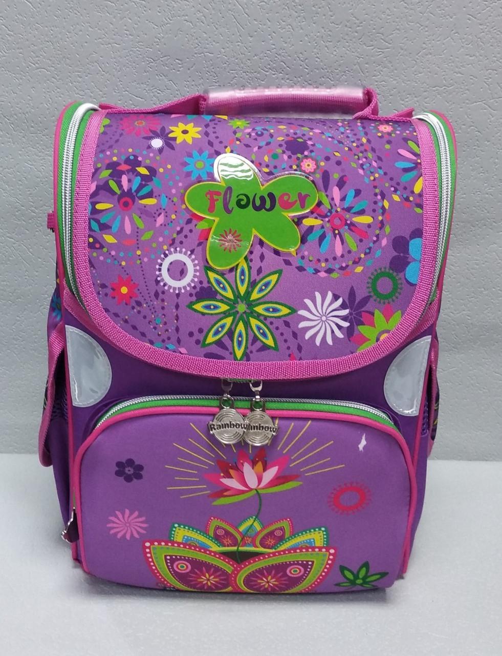 """Школьный рюкзак """"RAINBOW """" ортопедический для девочек"""