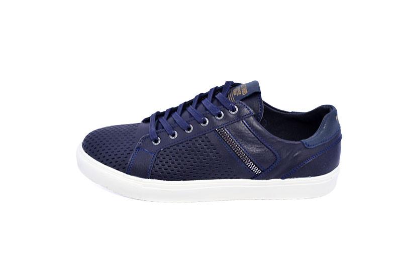 Мокасины Multi-Shoes Fox Perforation 9698 Blue