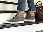 Мужские ботинки Vintage (серые) ЗИМА, фото 2