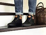 Мужские ботинки Vintage (черные) ЗИМА, фото 2
