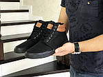 Мужские ботинки Vintage (черные) ЗИМА, фото 4