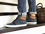 Мужские ботинки Vintage (синие) ЗИМА, фото 2