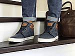 Мужские ботинки Vintage (синие) ЗИМА, фото 3