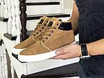 Чоловічі черевики Vintage (гірчичні) ЗИМА, фото 2