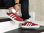 Мужские кроссовки Adidas Gazelle (красные), фото 3