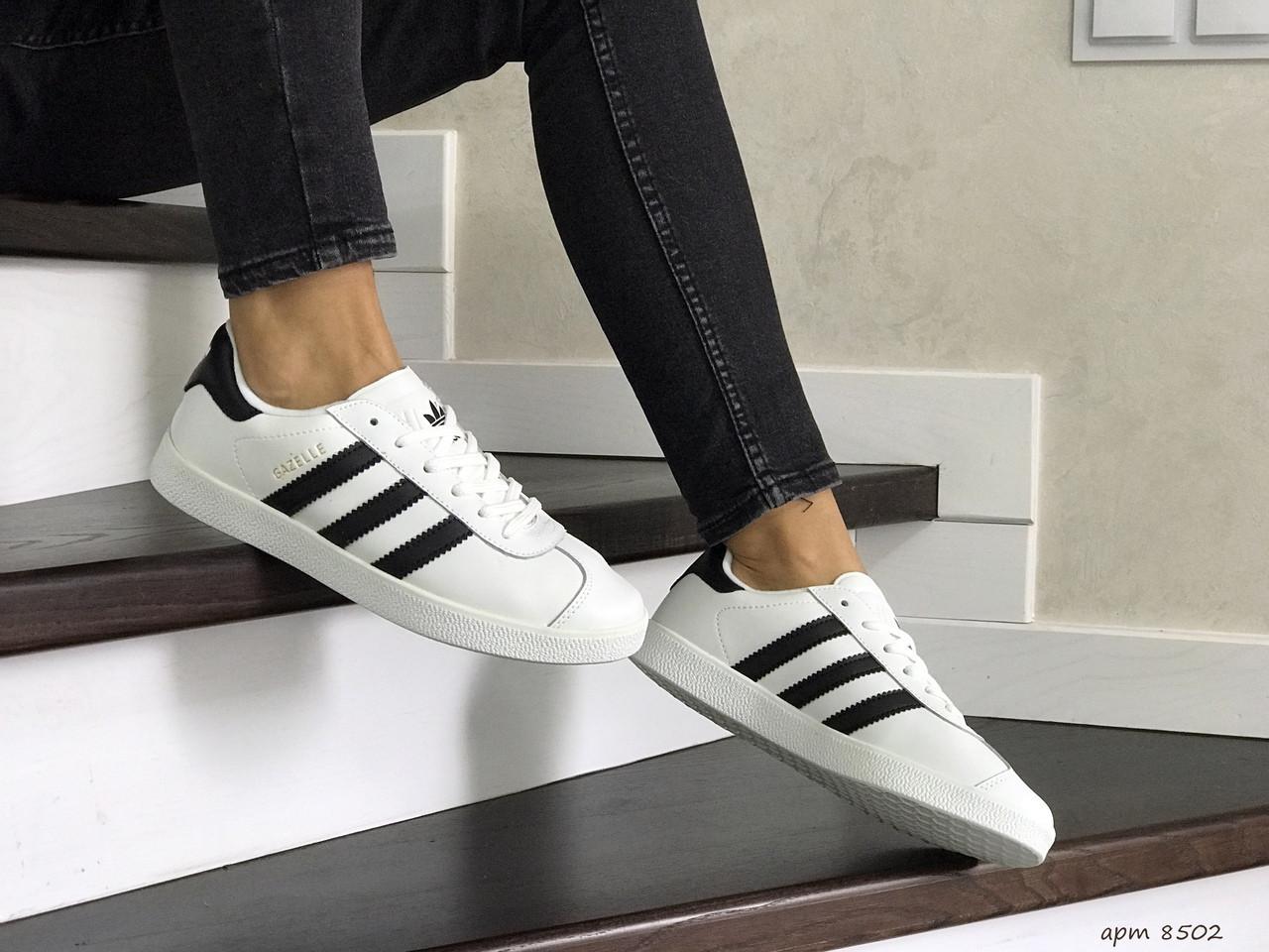 Жіночі кросівки Adidas Gazelle (білі)