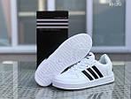 Мужские кроссовки Adidas La marque (черно/белые), фото 4
