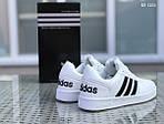 Мужские кроссовки Adidas La marque (черно/белые), фото 5