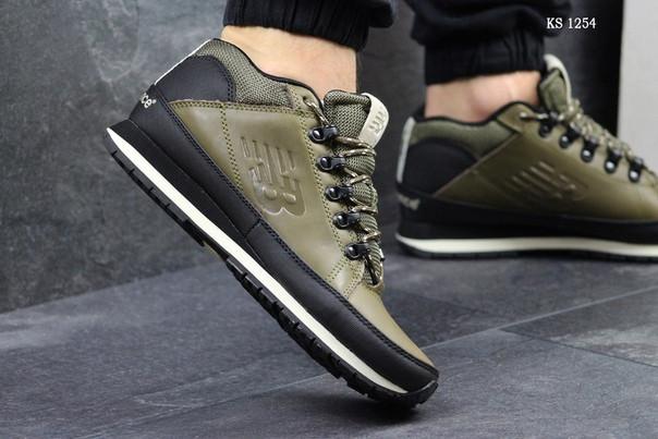 Мужские ботинки New Balance 754 (зеленые)