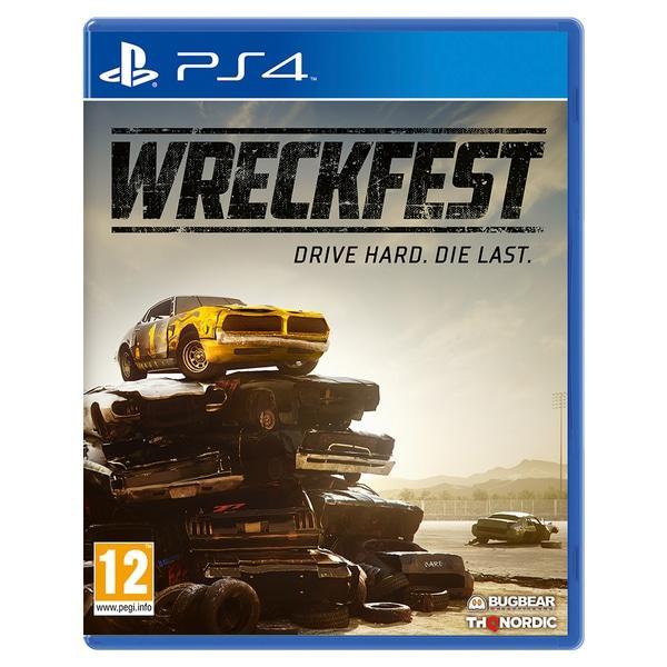 Игра PS4 Wreckfest для PlayStation 4