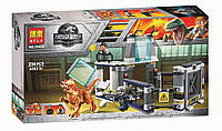"Конструктор Bela 10922 ""Побег стигимолоха из лаборатории"" (аналог Lego Jurassic World 75927), 234 детали"