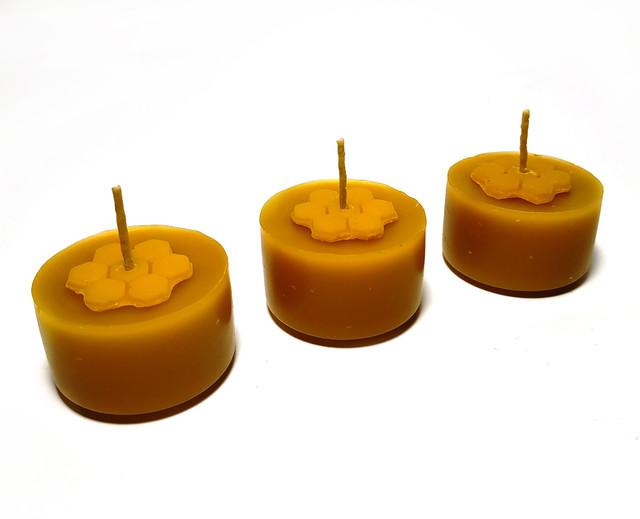 Чайні воскові свічки