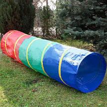 Детские игровые палатки, домики 3 in 1, с тоннелем,вигвам, фото 3