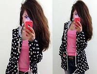 Пиджак женский в горошек 176 (24) $