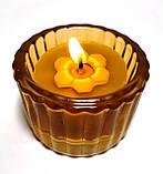 Чайні свічки з бджолиного воску Tea Lights Candles без гільзи, фото 4