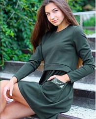 Платье для девочек подростков tm Mevis 3055 Размеры 146- 164