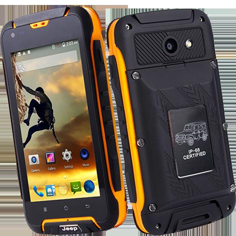 Защищенный мобильный смартфон Jeep F605  2+16 GB