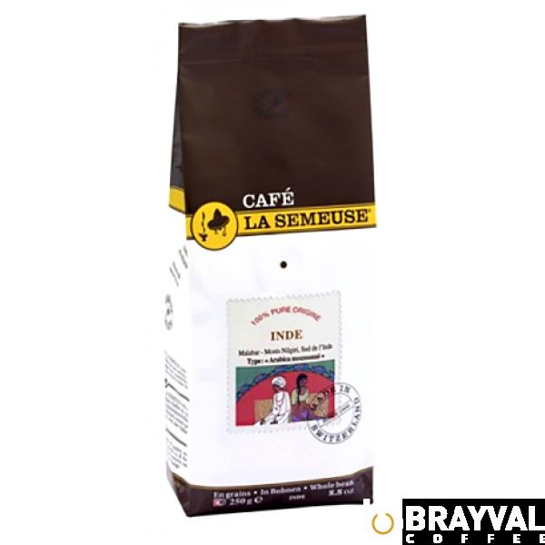 Кофе в зернах La Semeuse Индия Малабар 250 г