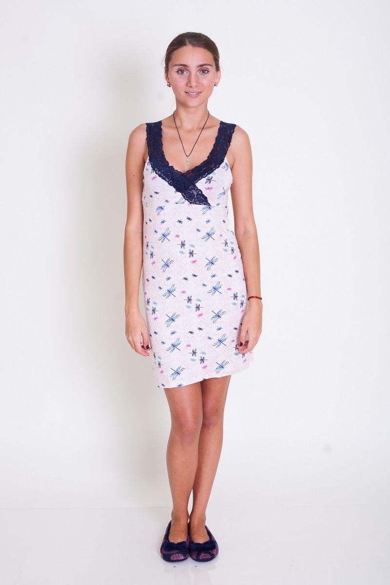 Трикотажное  платье для сна Nicoletta