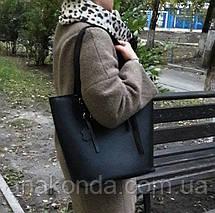 634 Натуральная кожа, Сумка-тоут трапеция женская кожаная сумка бежевая, женская сумка кожаная бежевая, фото 3