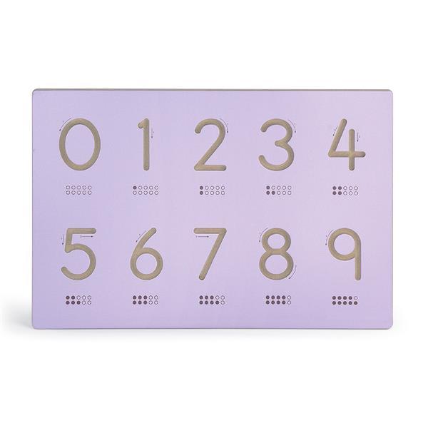 Деревянная доска Viga Toys Написание цифр (50859)