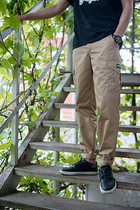 БРЮКИ КАРГО SAND, стильные штаны, фото 2