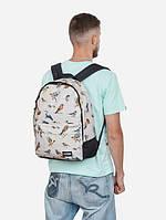 Рюкзак, Birds TAN, сумка-рюкзак, рюкзак с рисунком