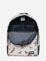 Рюкзак, Birds TAN, сумка-рюкзак, рюкзак с рисунком, фото 2