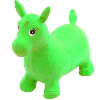 """Резиновый прыгун """"Лошадка"""" MS 0001 (Зеленый)"""