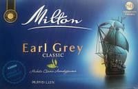 Черный чай Milton Earl Grey Classic 80 пакетов