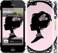 """Чехол на iPhone 5 Принцесса """"1992c-18"""""""