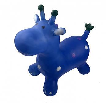 """Резиновый прыгун """"Жираф"""" BT-RJ-0054 (Blue)"""