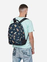 Рюкзак, Birds BLK, сумка-рюкзак, рюкзак с рисунком
